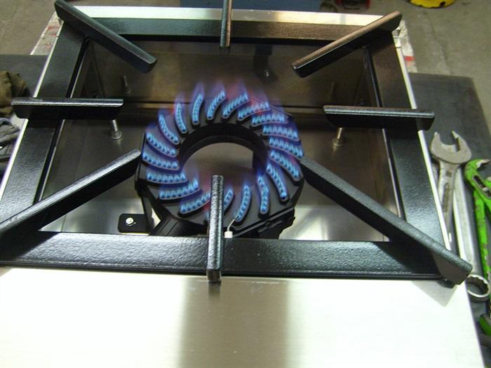 Plinsko ugostiteljsko jednoplameno kuhalo PK1
