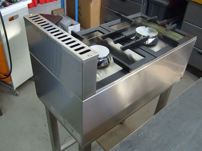 Plinsko ugostiteljsko dvoplameno kuhalo PK2